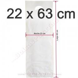 5000 Bolsas de Asa Troquelada 22x63 cm Pan