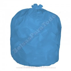 10 x 10 Bolsas Basura 85x105 cm G-95 Azul