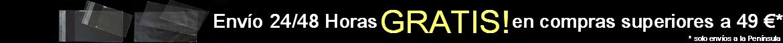 Envío 24/48 Horas GRATIS! en compras superiores a 49 €