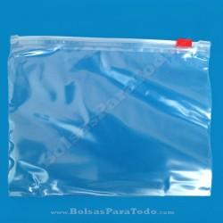 100 Bolsas PE 25x17 cm c/ Cierre por Cursor
