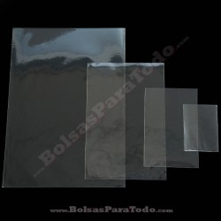 100 Bolsas PP 10x15 cm sin Cierre