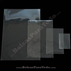 100 Bolsas PP 11x18 cm sin Cierre