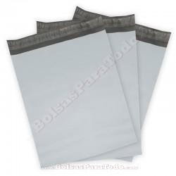 100 Bolsas de Mensajería de 35 x 45 + 5 cm